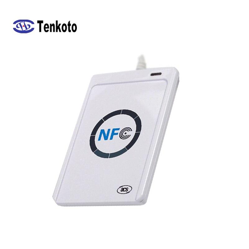 RFID Smart Card Reader Contactless Writer Copier Duplicator Writable Clone SDK USB S50 13.56mhz M1 Card Reader NFC ACR122U