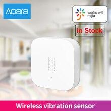 Inteligentny Aqara czujnik wstrząsów wibracji Alarm wykrywania wibracji Zigbee czujnik wstrząsów ruchu dla Aqara Mi aplikacja domowa