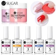 Сахарный порошок для ногтей UR SUGAR 5/15 мл, жидкая система, система очистки, инструменты для акриловой пудры без лампы, инструменты для дизайна ...