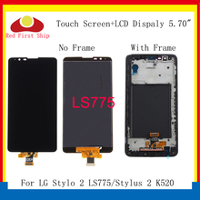 10Pcs/lot Display For LG Stylus 2 K520 LCD Display Touch Screen Digitizer Assembly For LG Stylo 2 LS775 LCD Screen Replacement laptop lcd led display screen for lg lp141wx3 tl p2 wxga 14 1 inches 30 pian