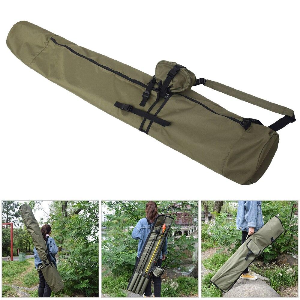Sac de canne à pêche multifonctionnel sac de couverture de canne à pêche de carpe étui de poteau de pêche sac de rangement de protection sac à dos de transporteur pour la pêche