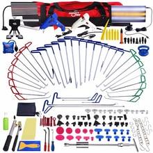 PDR outils pour barres à crochets, débosselage sans peinture, Kit de réparation automobile, tige de crochet, outils automobiles, débosselage de porte