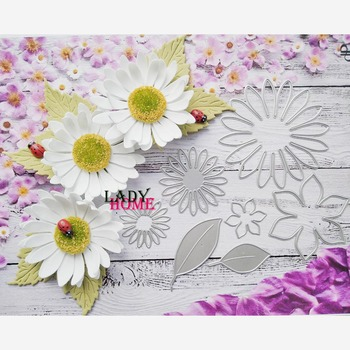 Słoneczniki Scrapbooking matryce metalowe tłoczone nóż szablon szablony do papier do majsterkowania fotoalbum robienie kartek umiera foremki do wycinania 2020 tanie i dobre opinie lady home CN (pochodzenie)