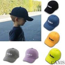 Brand New Baseball Cap Plain Kids Boys Girls Adjustable Snap