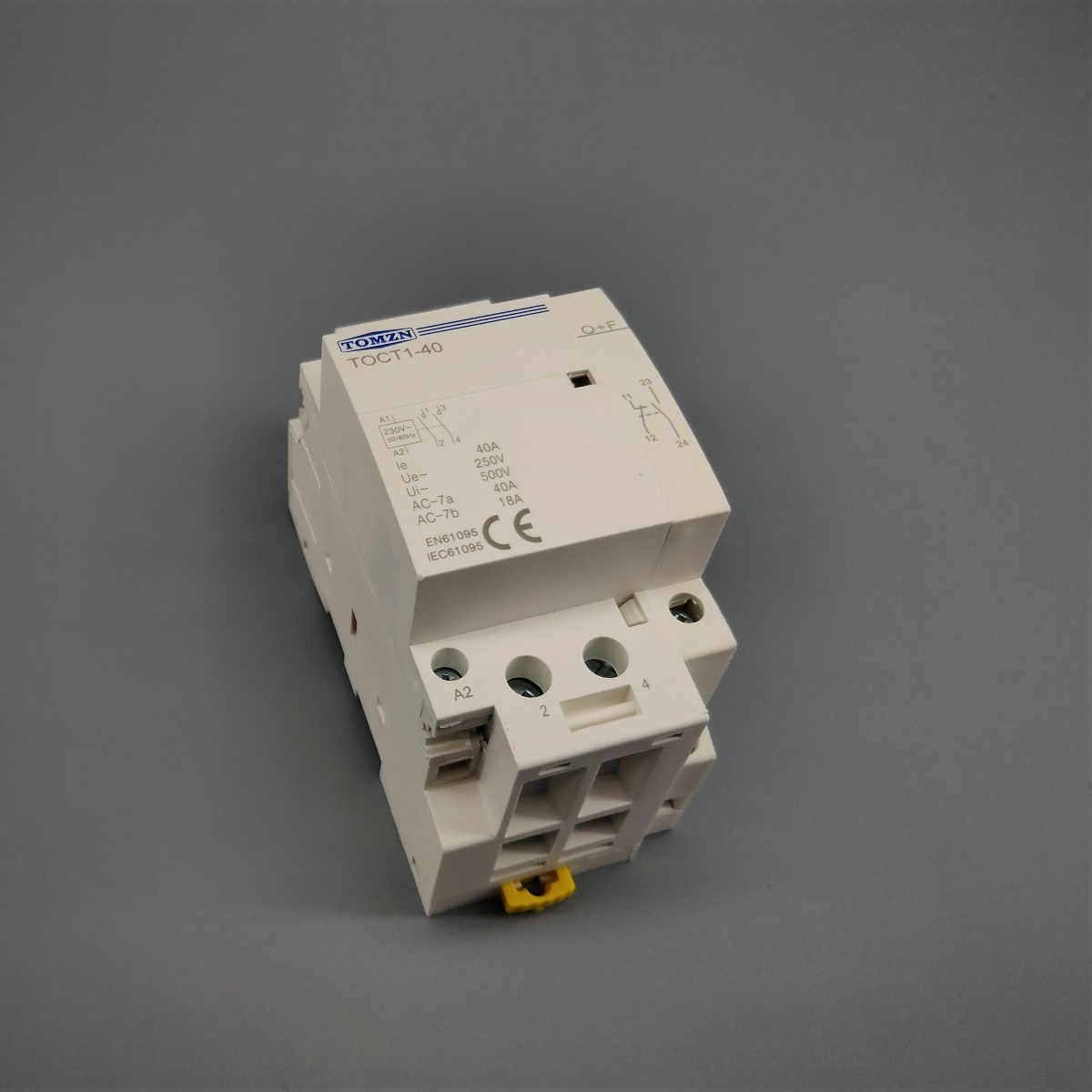 H818e0efad6ef40d09e7f5c78c842df803 - O+F Auxiliary Contactor for TOCT1 househould AC contactor 2NO or 1NO 1NC