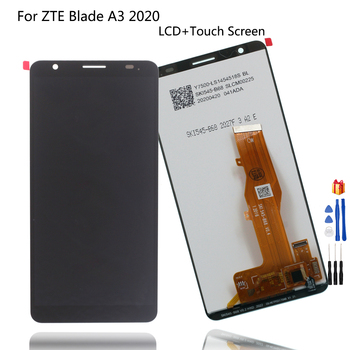 Original For ZTE Blade A3 2020 LCD Display Touch Screen Digitizer Assembly For ZTE A3 2020 LCD Display Repair Phone Parts+Tools for myphone hammer energy lcd display touch screen original lcd glass digitizer assembly repair parts