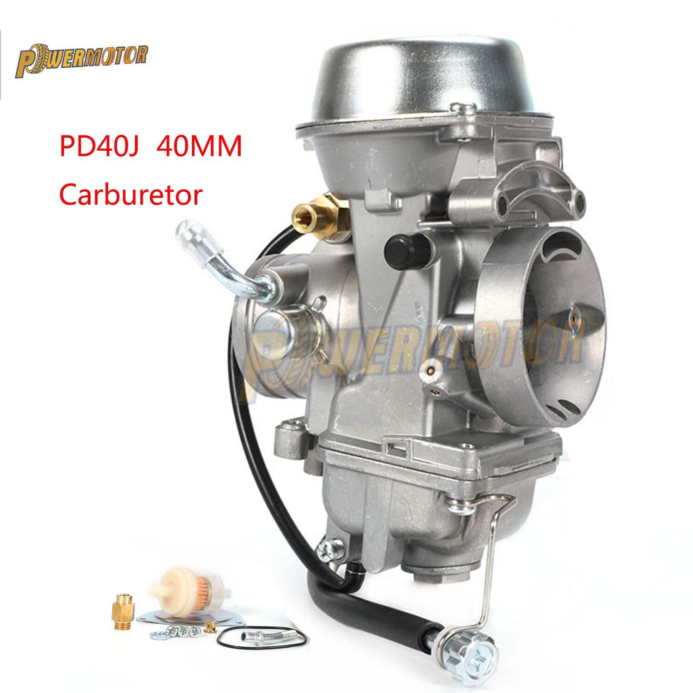 Карбюратор Powermotor PD40J для Polaris Sportsman 500 4x4 500-Big Boss Универсальный от до куб. См гоночный мотор ATV