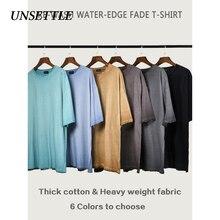 UNSETTLE Heavy Fabric High Plain t shirt Bulk Street Fashion
