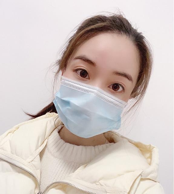 In Stock KN90 Face Mask Antivirus  Mask Anti Cononavirus  Respirator Flu  Infection Disposable 5