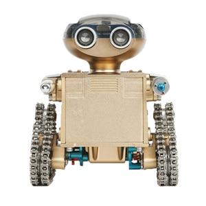 Image 1 - DIY 金属インテリジェントリモコンスマートロボット組立教育モデル構築のおもちゃ誕生日ギフトのための 10 以上