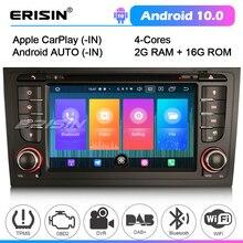2706 รถสเตอริโอสำหรับ AUDI A6 S6 RS6 allroad บลูทูธ Android 10 CarPlay GPS DVB TPMS DAB วิทยุ Autoradio DVD เครื่องเล่น