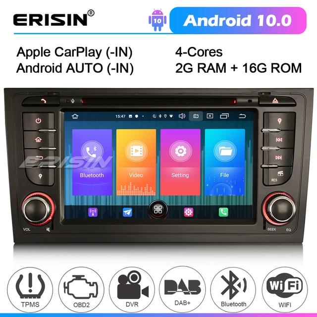 2706 samochodowe stereo dla AUDI A6 S6 RS6 allroad Bluetooth Android 10 CarPlay GPS DVB TPMS Radio DAB Autoradio odtwarzacz DVD jednostka główna