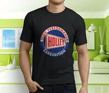 Nouveau Cool Holley Performance carburateur Vintage hommes noir t-shirt taille S 3Xl(China)