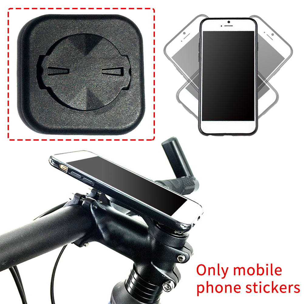 Self Adhesive Extension Thin Easy Use Interphone Paste Tool Accessories Phone Holder Sticker Bicycle Mount Adapter For Garmin