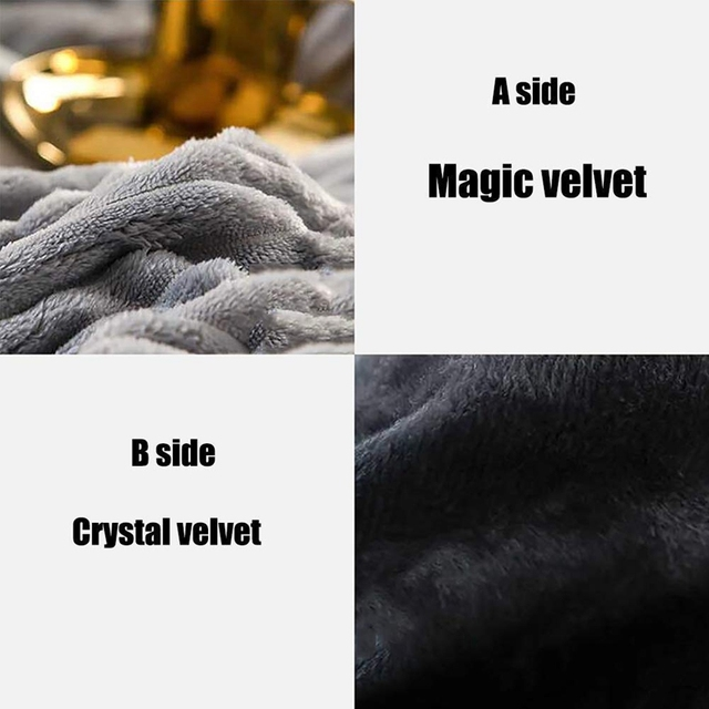 Textured Plush Comforter 6