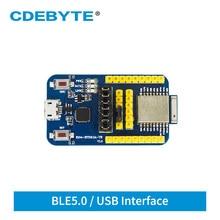 Test-Board E104-BT5010A-TB Nrf52810 CDEBYTE Bluetooth-Module UART BLE USB