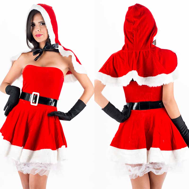Sexy Lingerie Adult Women Nurse Fancy Dress Costume Cosplay Outfit Set Santa Woman Christmas Lingerie Babydoll Erotic Lingeries