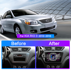 Image 2 - Autoradio pour KIA RIO 3 2011 2012 2013 2014 2015 2016 2Din Android multimédia lecteur vidéo GPS Navigation Autoradio stéréo 2 din
