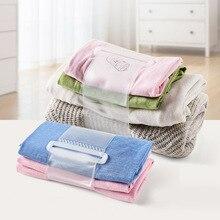 Clothes Folder Organizer To Fold and Organize Pants Sweater Shirt Folding Board Laundry RT99