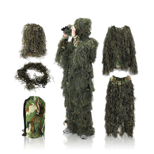 Guangzhou Jungle Camo Outdoor Battleground Camouflage Clothing CS Hunting Bird Invisible Desert Filament Camouflage Sniper Cloth gated guangzhou
