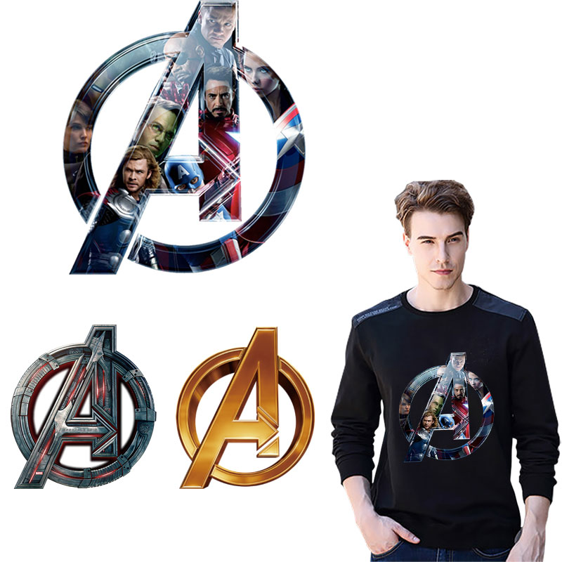 cool <font><b>marvel</b></font> iron <font><b>patches</b></font> <font><b>for</b></font> <font><b>clothing</b></font> badge ironing stickers boys <font><b>patch</b></font> diy applique heat transfer super washable <font><b>patch</b></font> vetement image