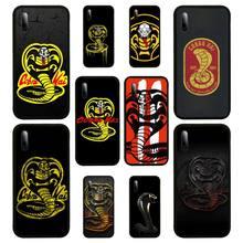 Snake Cobra Kai TV Phone Case For Samsung S Note20 10 2020 S5 21 30 ultra plus A81 Cover Fundas Coque