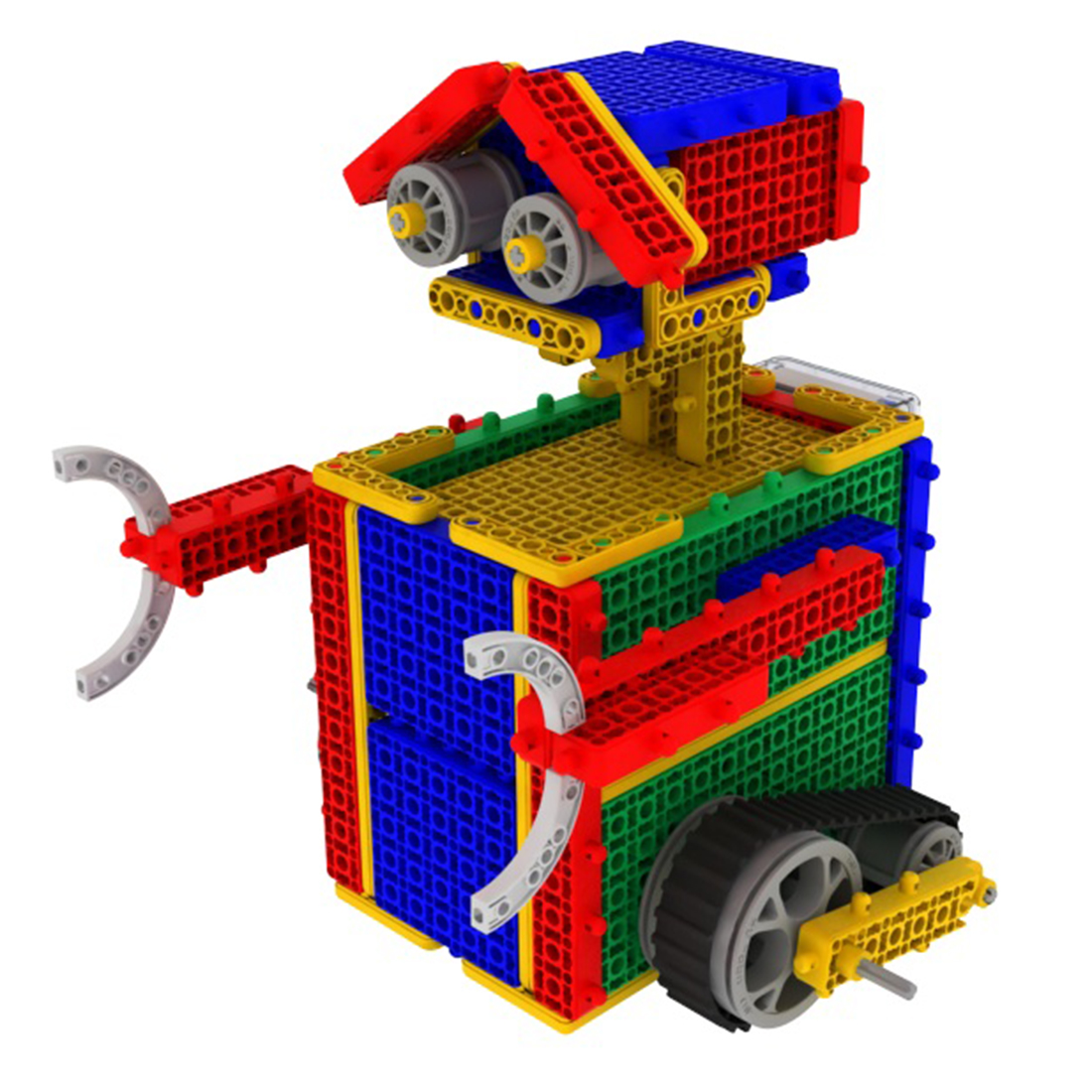 conjunto kit brinquedo robo educacional para iniciante 05