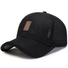 Mesh Baseball Cap Golfs Trucker Hat Breathable Snapback Visor Mesh Plain for Outdoor XRQ88(China)