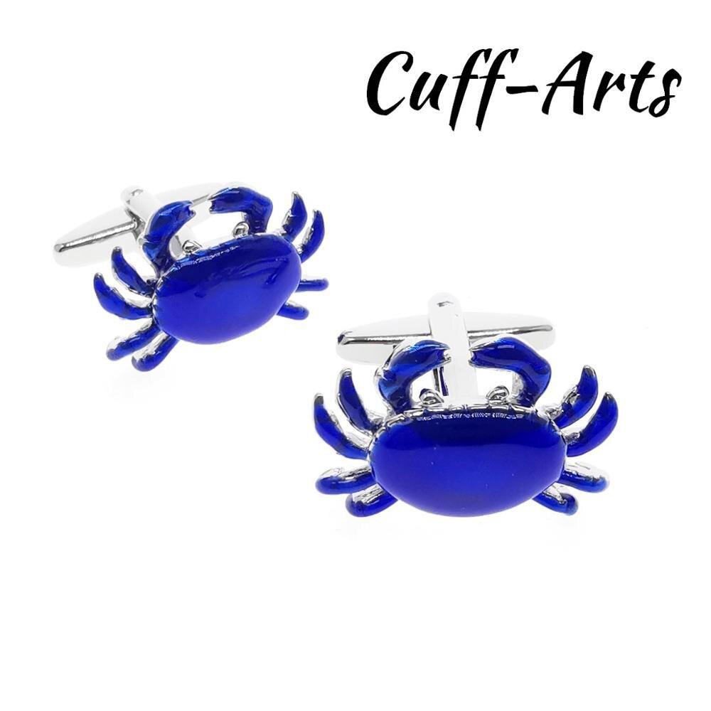 Mens Cufflinks Blue Crabs Cufflinks Gifts For Men Gemelos Les Boutons De Manchette By Cuffarts C10606