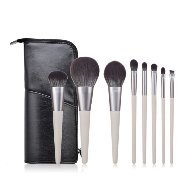 4-14pcs Makeup Brushes Set For Foundation Powder Blush Eyeshadow Concealer Lip Eye Make Up Brush With Bag Cosmetics Beauty Tools 3