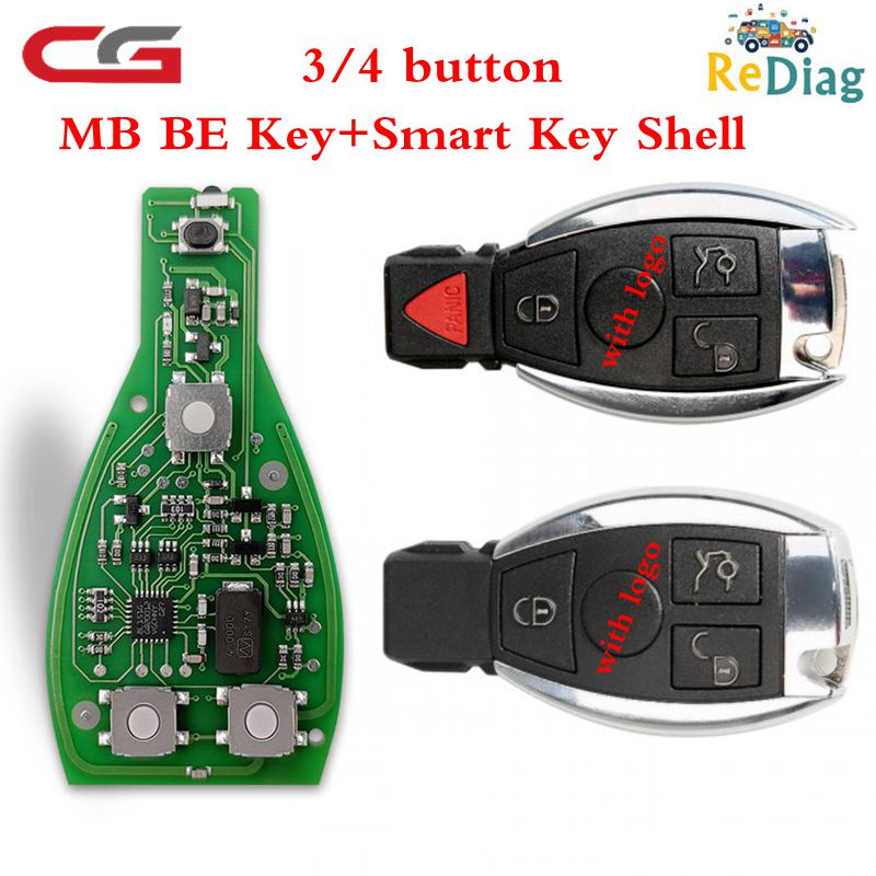 New Arrival Original 1/5/10PCS/LOT CGDI MB Be Key Support All Mercedes Till FBS3 315MHZ/433MHZ Get 1 Free Token For CGDI MB
