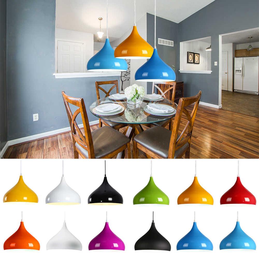 Hängen Anhänger Licht Moderne E27 LED Lampe Mode Küche wohnzimmer  Restaurant Leuchten Suspension Leuchte
