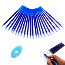 Buy 12pcs Erasable Pen Refill Gel pen 0.5mm Blue Black Ink Magic Gel Pens Office School Supplies Stationery Writing Tools Gift directly from merchant!