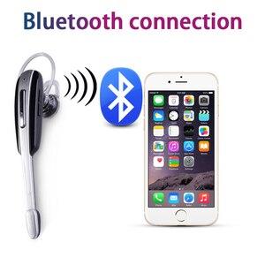 Image 3 - ワイヤレス bluetooth イヤホンイヤーループハンズフリービジネススポーツランニングヘッドセットステレオ auriculares ソニー huawei 社 xiaomi allphone