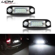 IJDM Xenon Weiß OEM-Fit Volle LED Kennzeichen Licht Für Volvo S80 XC90 S40 V60 XC60 S60 C70 XC70 V70 Auto-Styling Anzahl Lampe