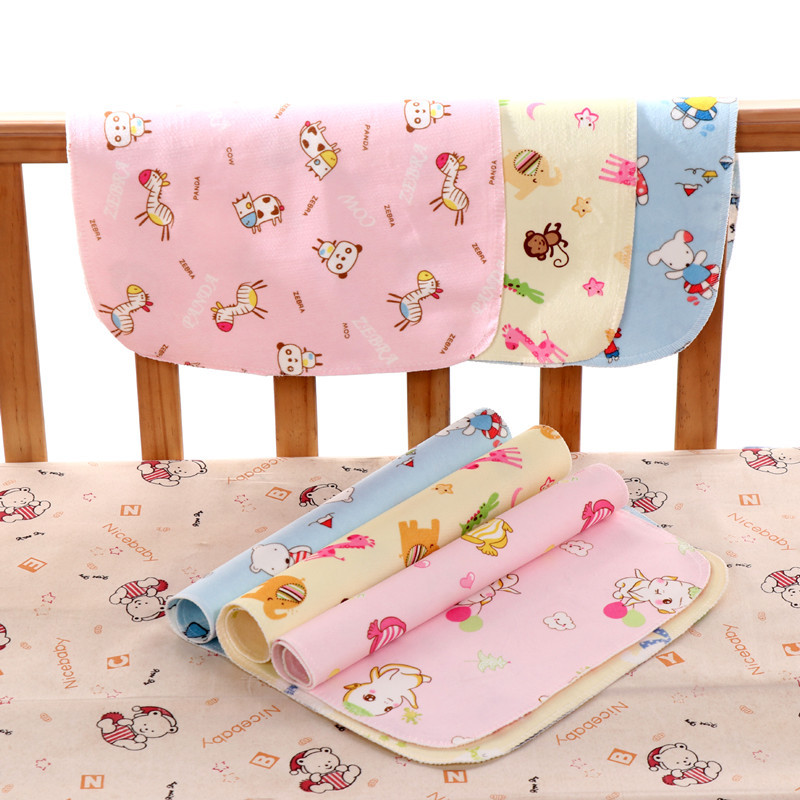 2 Layers Baby Changing Mat Portable Foldable Washable Waterproof Mattress Children Game Floor Mats Reusable Travel Pad Diaper