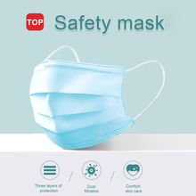 50pcs Gauze mask Face Mask Anti Virus Mouth Filter Anti Bacterial Disposable Mask 3 Layers Protective Baby Adult Masks