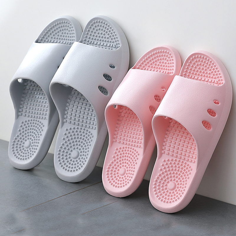 FZNYL New Arrival Home Massage Shoes Women Slippers Flip Flops Summer Indoor Bathroom Slides Comfortable Non-slip House Slippers