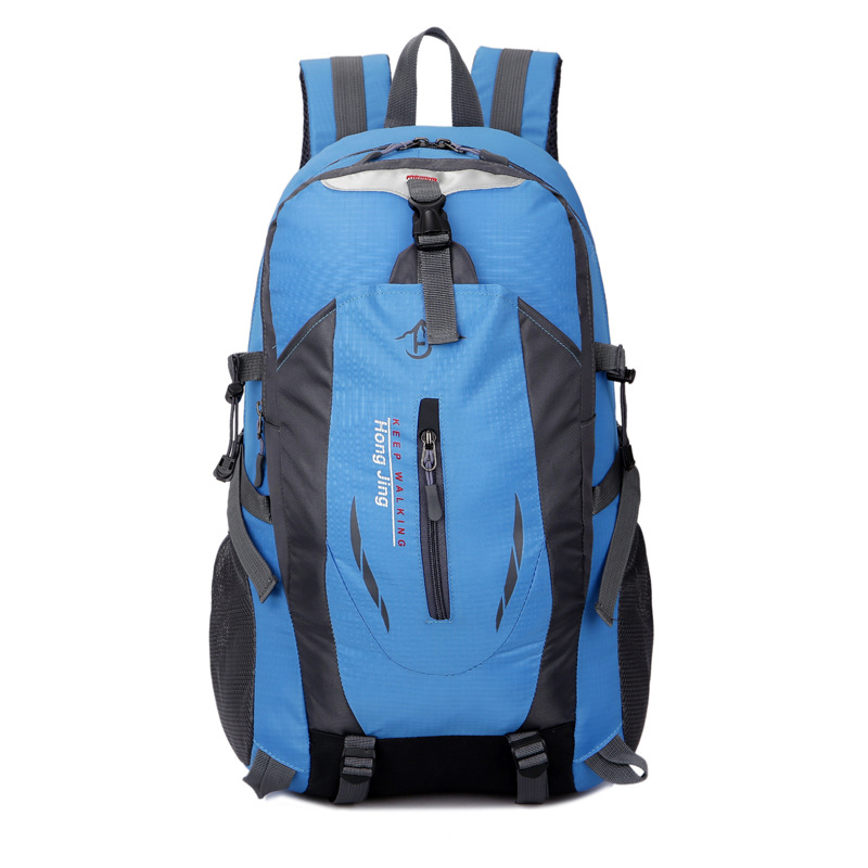 Mountaineering Bag Shoulder Men And Women Large-Volume Hiking Anti-Spillage Travel Outdoor Backpack Middle School Students Schoo