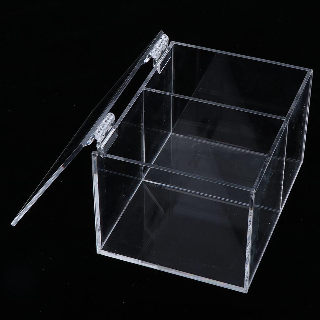 Display Acrylic Holder with Deck Shelf, for Action Figures Diecast Model Toy Cars, 5.91x3.94x7.87inch