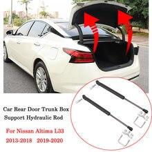 Para nissan altima l33 2013-2020 porta traseira do carro trunkauto-abertura bagageira tronco pneumático hidráulico barra de suporte ar hastes a