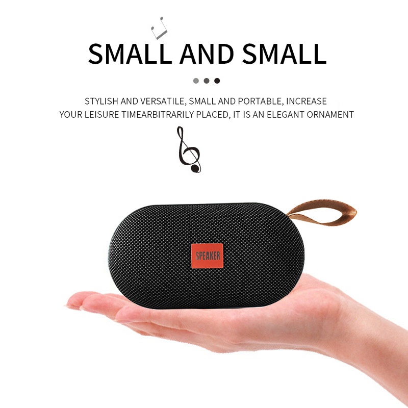 T7 Mini Bluetooth Speaker Potable Wireless Loudspeaker Sound System 3D Stereo Music Surround Outdoor Speaker Support FM TFCard in Portable Speakers from Consumer Electronics