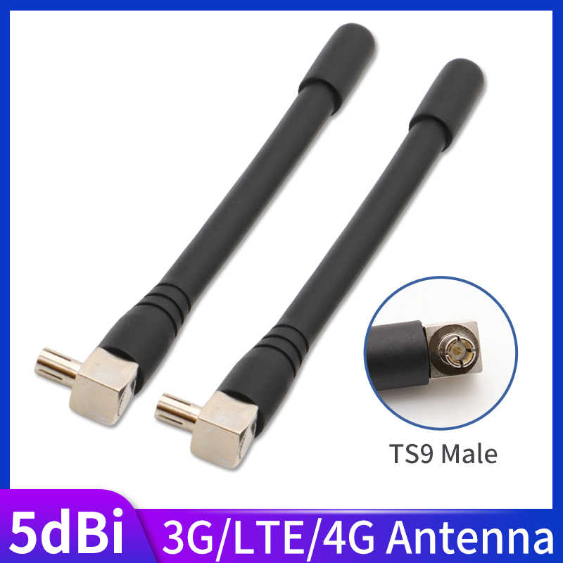 5dBi 4G Lte Wifi Antenne TS9 Router Antennes Voor Huawei E5573 E5372 E5377 E8372 790 785 Externe Antennes Voor huawei 2Pcs