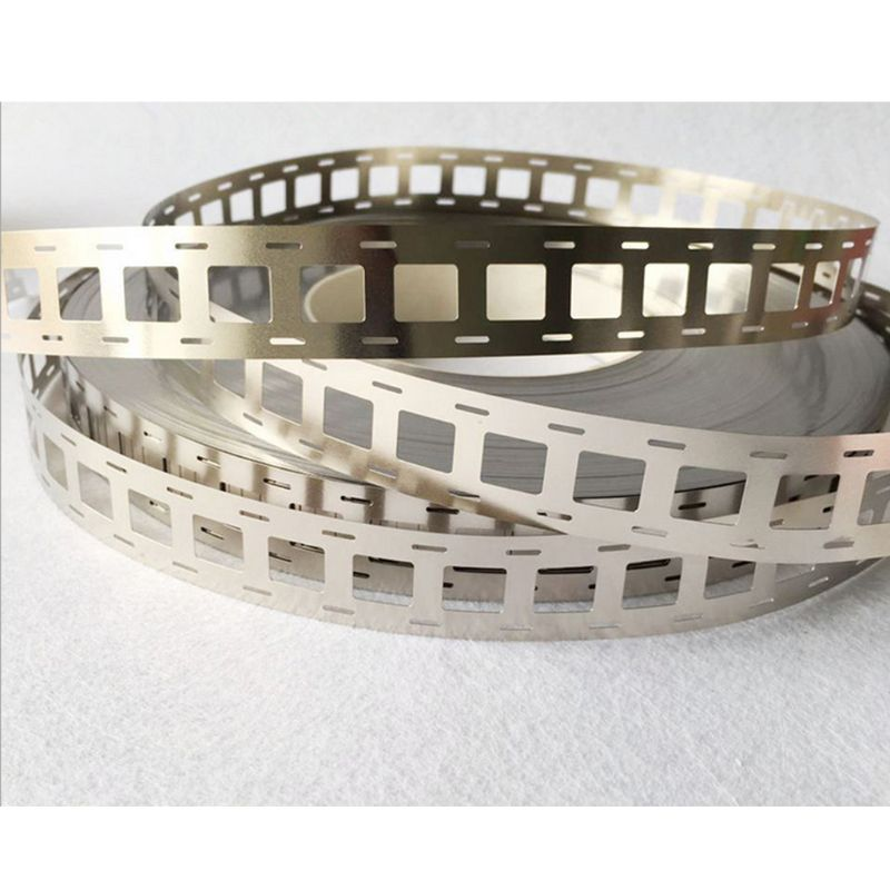 2/3/4P Pure Nickel Plated Steel Strip Sheet 0.15mm Thickness For Spot Welding AXYF