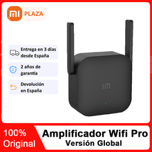 Xiaomi-Amplificador wifi Pro, amplificador de red, enrutador, 2 antenas para wifi