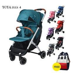 Cochecito de bebé liviano Yoya Plus 4 cochecito de bebé liviano serie Yoya Plus carrito de bebé portátil 2 en 1 coche de bebé 11 Uds regalos gratis