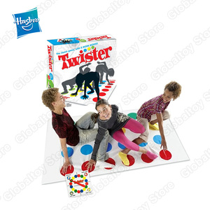 Hasbro Games Twister Game Indoor Outdoor Toys Fun Game Twisting the body For Children Adult Sports Interactive Group Toy(China)