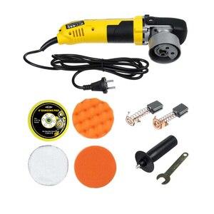 Image 3 - Alta qualidade elétrica dupla ação choque polisher 220v polimento máquina de depilação velocidade ajustável auto lock aleatório