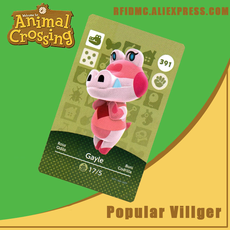 391 Gayle Animal Crossing Card Amiibo For New Horizons
