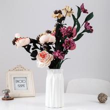 Оригами пластиковая ваза скандинавские цветочные горшки декоративные вазы Небьющийся цветочный горшок цветы украшение для ваз украшение дома